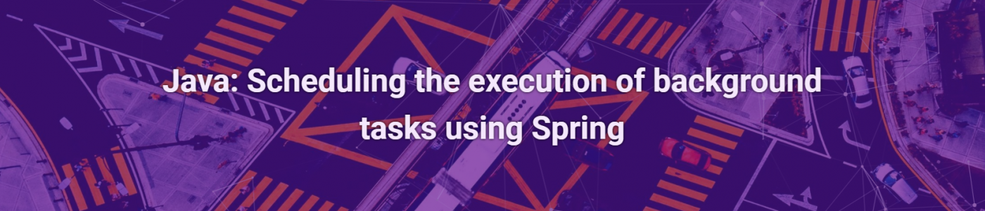 Java: Scheduling the execution of background tasks using Spring